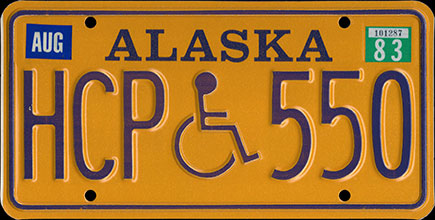 Alaska - 1983 Handicapped
