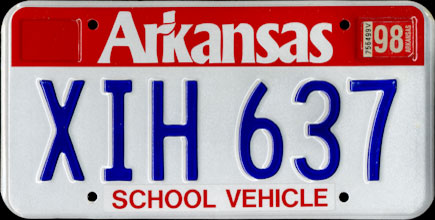 Arkansas - 1998                             School Vehicle