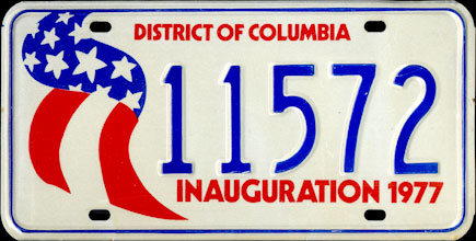 District of Columbia - 1977 Presidential Inaugural