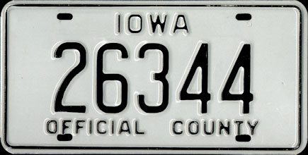 Iowa - 1993                     Official County