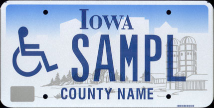 Iowa - 1997 Base                   Handicapped Sample