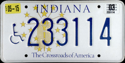 Indiana - 2003                   Handicapped