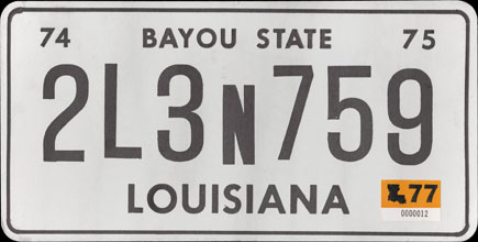 Louisiana - 1977 Prop