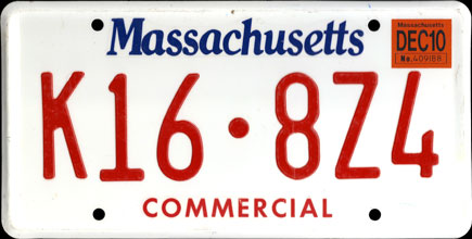 Massachusetts -                       2010 Commercial