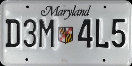 Maryland -1986 Base Truck