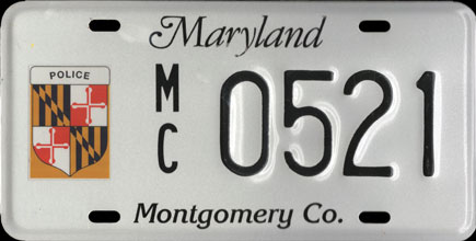 Maryland - 1990s Montgomery County Police