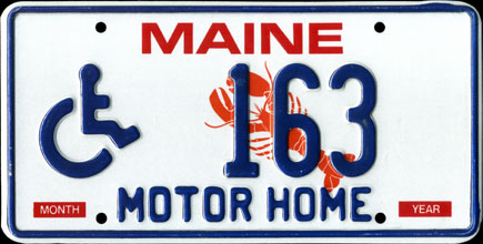 Maine - 1997 Handicapped                                 Motor Home
