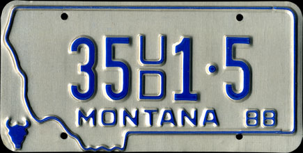 Montana - 1988 Used Car Dealer