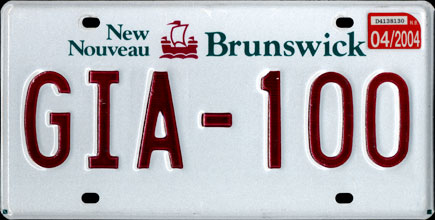 New                                     Brunswick - 2004 Passenger