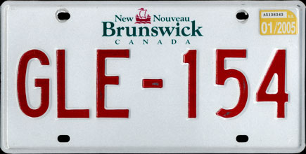 New                                     Brunswick - 2005 Passenger