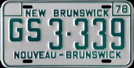 New                           Brunswick - 1978 Government Service