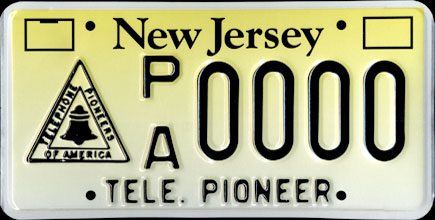 New Jersey -                         Telephone Pioneers Sample