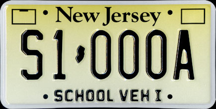 New Jersey -                         2007 School Vehicle I Sample
