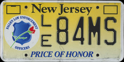 New                   Jersey - 2009 Price of Honor
