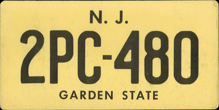 New Jersey - Prop                     1959 Base