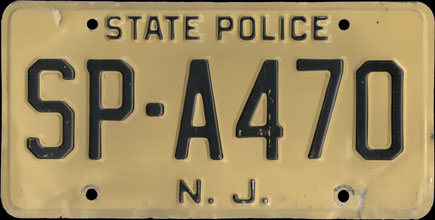 New Jersey - 1959 Base                     State Police