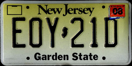 New Jersey - 1994 1988 Remake, 2005                             sticker