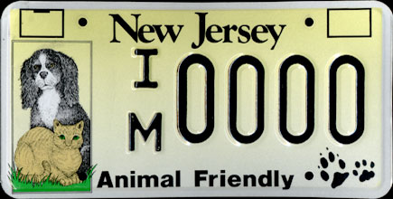 New Jersey -                           Animal Friendly Sample