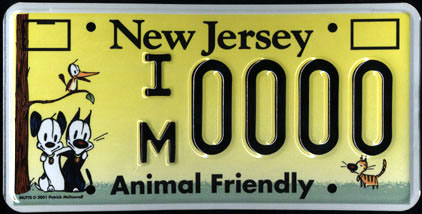 "New Jersey - Animal Friendly                           ""Mutts"" Sample"