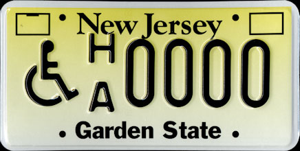 New Jersey                             - Handicapped Sample
