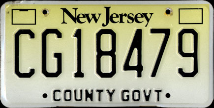 New Jersey - County Government