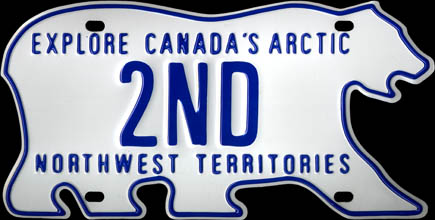 Northwest                     Territories - 1986 Base 2nd Prize