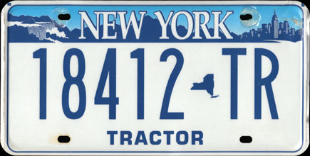 New York - Tractor