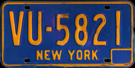 New York - 1972                           Passenger