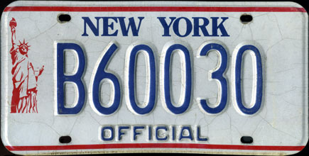 New York - 1986 Base                   Official