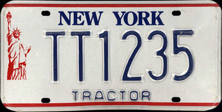 New York -                   1986 Base Tractor