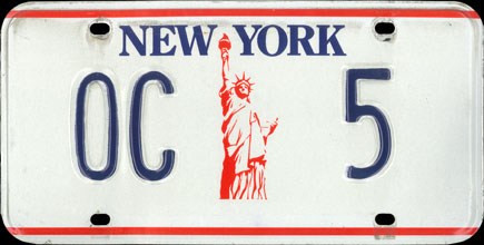 New York                           - 1993 Orange County Clerk Issue