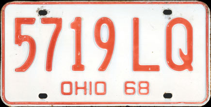 Ohio - 1968 Base                           Passenger