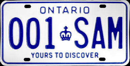 Ontario - 1986                           Passenger Sample