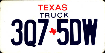 Texas - Prop 1986 Base                         Truck