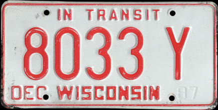 Wisconsin - 1987 In Transit