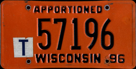 Wisconsin - 1996 Apportioned