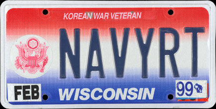 Wisconsin - 1999 Korean War                               Veteran Vanity