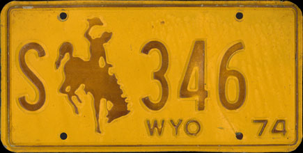 Wyoming - 1974 State                     Government